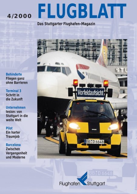 Das Stuttgarter Flughafen-Magazin - Flughafen Stuttgart