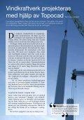 Vindkraftverk projekteras med hjälp av Topocad - Adtollo - Page 6