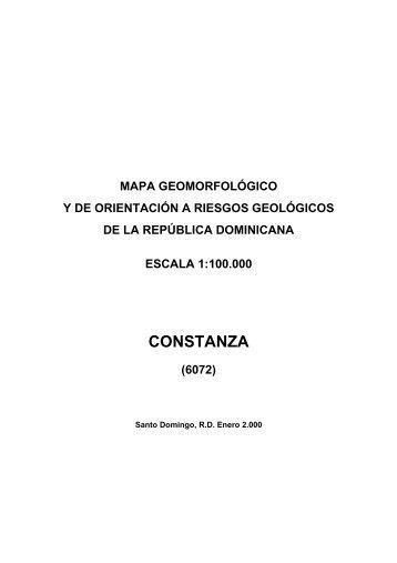 CONSTANZA - mapas del IGME