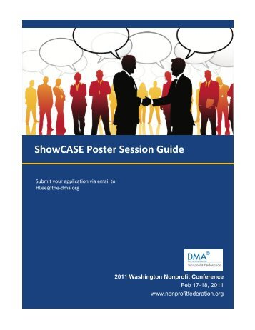 ShowCASE Poster Session Guide - DMA Nonprofit Federation
