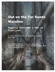 Out on the Tar Sands Mainline -