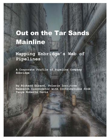 "Out on the Tar Sands Mainline - ""JLS"" Report"