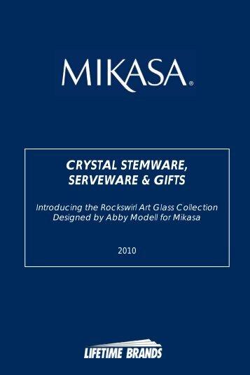 CRYSTAL STEMWARE, SERVEWARE & GIFTS - Lifetime Brands