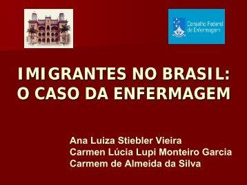 imigrantes no brasil: o caso da enfermagem - Visit observarh.org