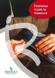 Footwear made to measure Catalogue (Eng) - Rizzoli Ortopedia