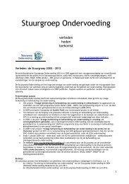 Lees hier een overzicht van de activiteiten sinds 2005 en de ...
