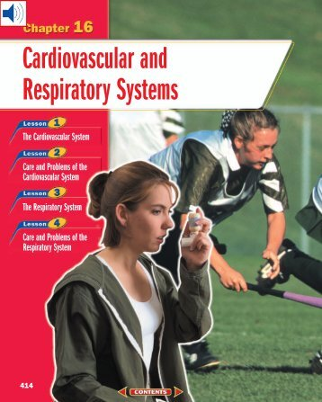 Chapter 16: Cardiovascular and Respiratory Systems