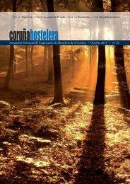 Revista Octubre 2011 Nº 25 - Asociación de Hostelería de A Coruña
