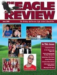 Eagle Review Summer 2009 - Bishop Watterson High School