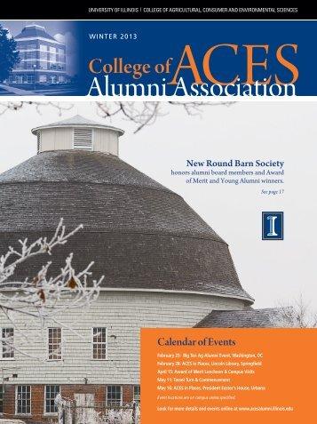 Winter 2013 - ACES Alumni Association