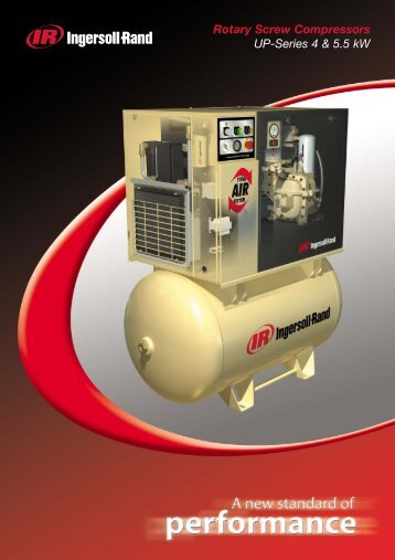 Ingersoll-Rand Screw Compressor