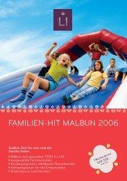 FAMILIEN-HIT MALBUN 2006