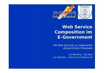 Web Service Prozesse - Jan Mendling