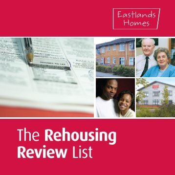 The Rehousing Review List - Eastlands Homes