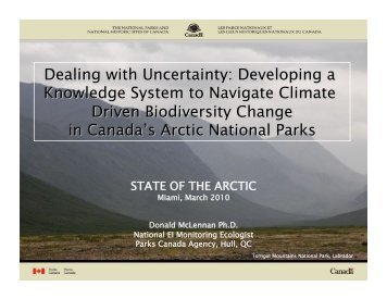 Download PDF (5.3 MB) - State of the Arctic 2010
