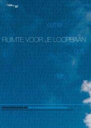 Downloaden brochure Ruimte voor je loopbaan (pdf, 425 kB) - Zestor