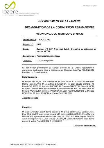 Catalogue de Services Opérateurs - Net 48 - Juin 2012