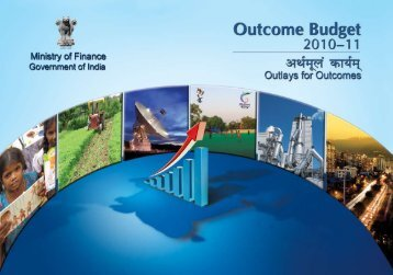 Outcome Budget 2010-11.pdf - Ministry of Finance