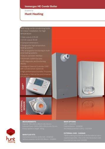 HE COMBI Flyer.pdf - Hunt Heating