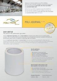 POLI-JOURNAL03 / 2013 - POLI-TAPE Klebefolien GmbH