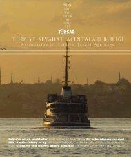 Dünya'nın biletini kesiyoruz! - Türkiye Seyahat Acentaları Birliği