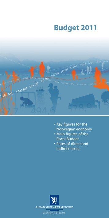 Budget 2011.pdf - Statsbudsjettet