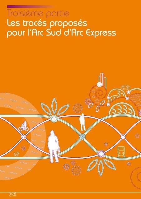 Troisième partie Les tracés proposés pour l'Arc Sud d'Arc Express