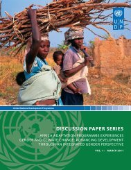 DISCUSSION PAPER SERIES - Gender Climate