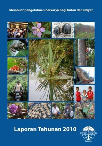 Laporan Tahunan 2010 - Tropenbos International