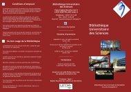 Guide du lecteur - Bibliothèque interuniversitaire de Montpellier