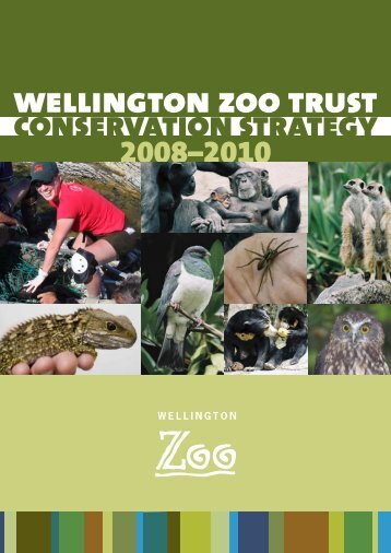 Conservation Strategy - Wellington Zoo