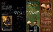 ANTHROPOLOGY PROGRAM - Oxnard College