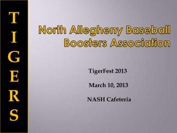 Activities for 2013 - Nabaseballboosters.org