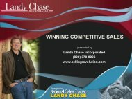 Competitive Selling Strategies - NASPD