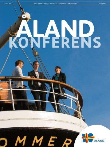 ANNONS Hela denna bilaga är en annons från Ålands Turistförbund ...