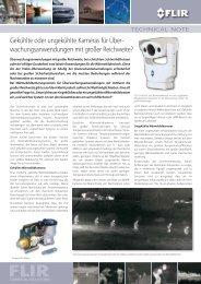 Gekühlte oder ungekühlte Kameras für Über - FLIR Systems