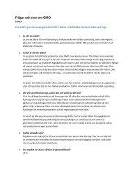 140414 Frågor och svar GMO total