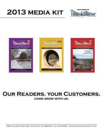 2013 media kit - Blue Mountain Town & Country Gazette