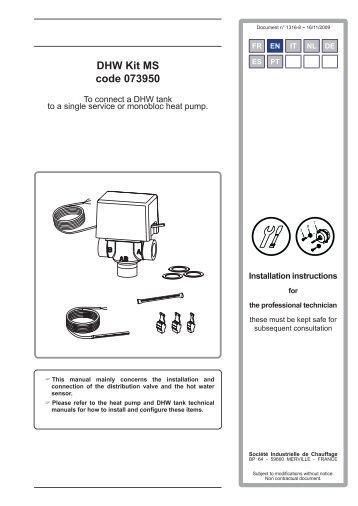 DHW Kit MS code 073950 - Atlantic-comfort.com
