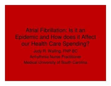 Atrial Fibrillation - Women in Government