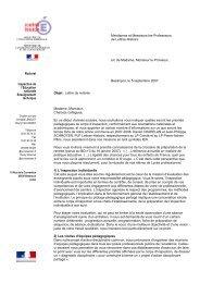 Lettre de rentrée 2007-2008-ITI - Mission TICE