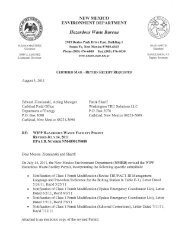 WIPP Hazardous Waste Facility Permit Revised July 14, 2011 dated ...