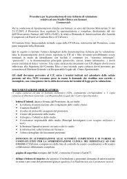 Studio Clinico - Azienda Ospedaliera Santi Antonio e Biagio e ...