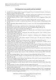Bibliografia - Azione Cattolica Italiana
