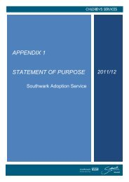 appendix 1 statement of purpose - Meetings, agendas, and minutes ...