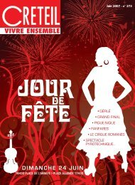 Vivre Ensemble - Juin 2007 - Créteil