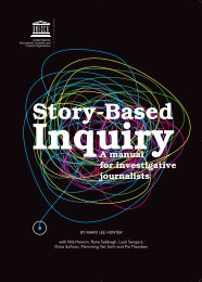 Story-based inquiry: a manual for investigative ... - unesdoc - Unesco
