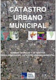 Normas Técnicas y de Gestión Reguladoras del Catastro Urbano