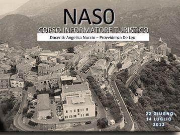 Diapositiva 1 - Comune di Naso