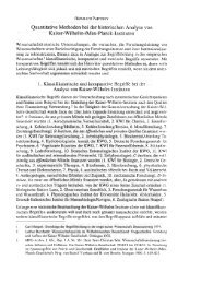 Quantitative Methoden bei der historischen Analyse ... - Parthey.de